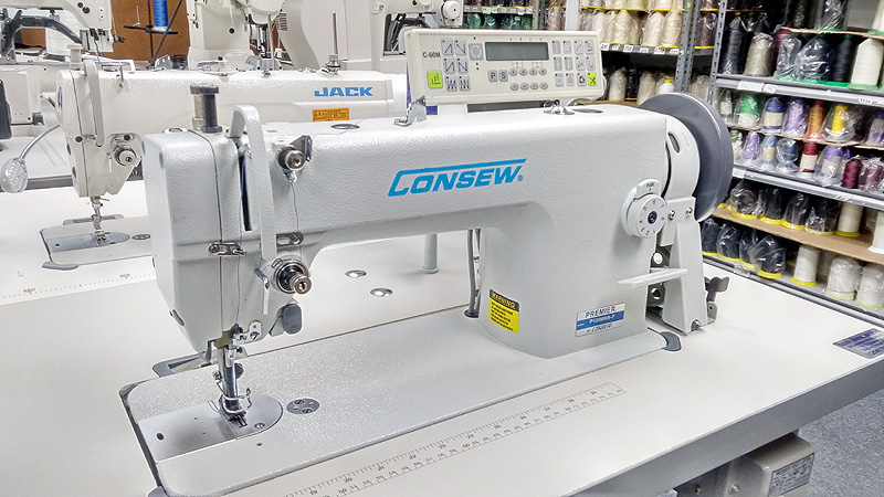 Leather And Upholstery Machines CONSEW P40RB40 Automatic Walking Cool Upholstery Thread In Sewing Machine