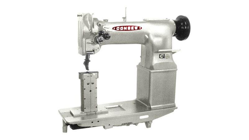 Apparel Machines Consew 357r 1 Double Needle Post Bed Lockstitch Sewing Machine