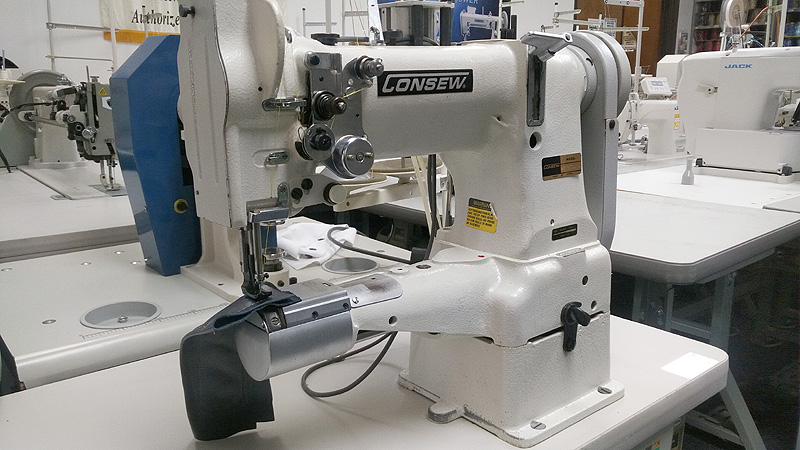 Leather And Upholstery Machines CONSEW 40R Walking Foot Cylinder Beauteous Cylinder Sewing Machine Used