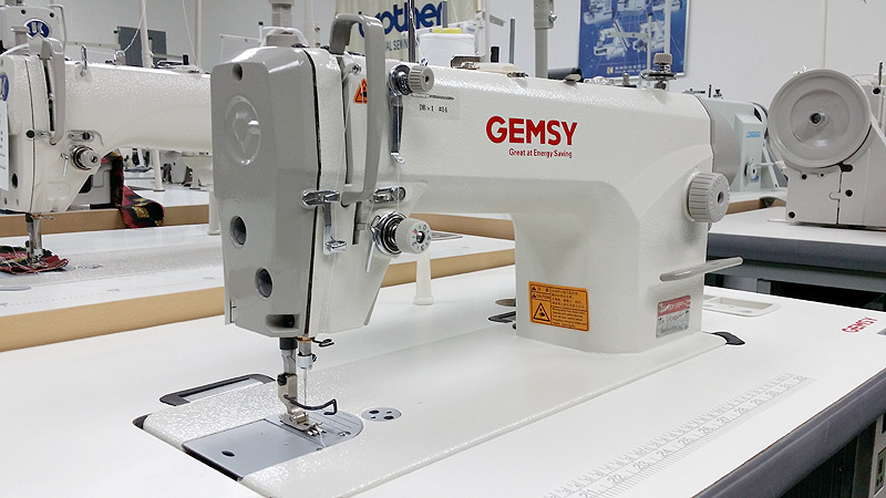 Apparel Machines GEMSY GEM40D40 Single Needle Industrial Sewing Amazing How Much Is Industrial Sewing Machine