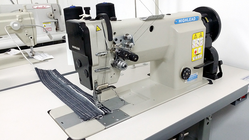 Apparel Machines HIGHLEAD GC40B Double Needle Lockstitch Beauteous Highlead Sewing Machine China