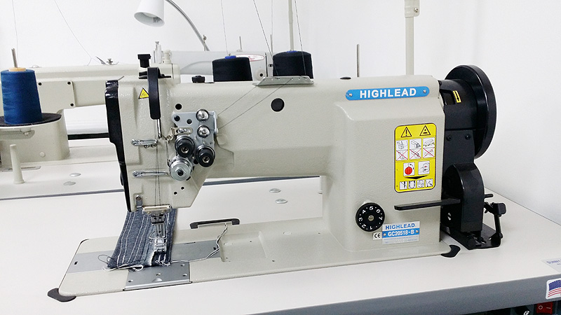 Apparel Machines HIGHLEAD GC40B Double Needle Lockstitch Extraordinary Highlead Sewing Machine China