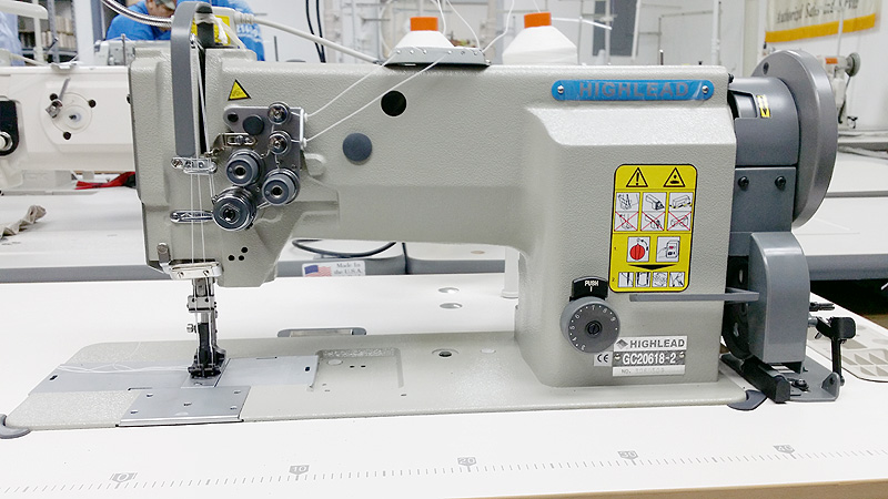 Leather And Upholstery Machines HIGHLEAD GC4040 Double Needle Gorgeous Highlead Sewing Machine