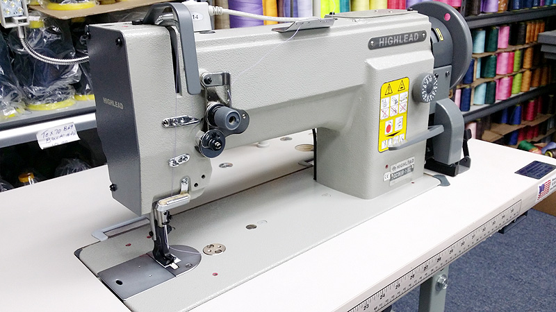 Leather And Upholstery Machines HIGHLEAD GC4040SC Single Needle Stunning Highlead Sewing Machine China
