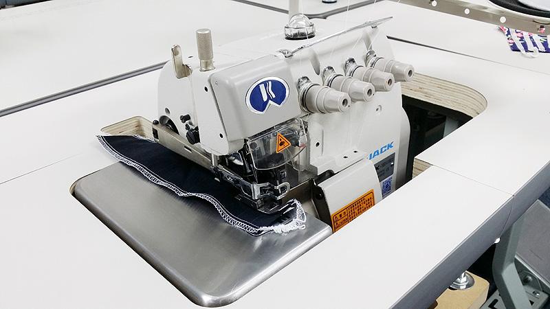 Apparel Machines JACK JK40BDI40 Five Thread Industrial Serger Amazing 5 Thread Overlock Industrial Sewing Machine