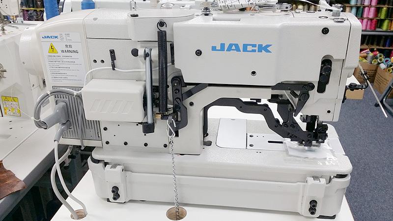 Button Hole Machines Jack Jk T781d Lockstitch Button Hole