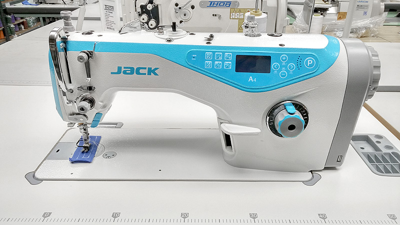Apparel Machines JACK A40 Automatic Single Needle Lockstitch Sewing Adorable Sewing Machine Jack
