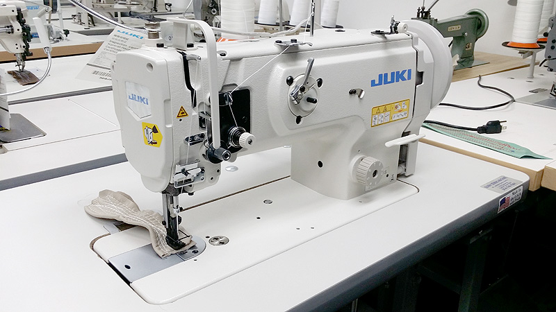 Leather And Upholstery Machines JUKI DNU40S Single Needle Delectable Juki Walking Foot Sewing Machine For Sale