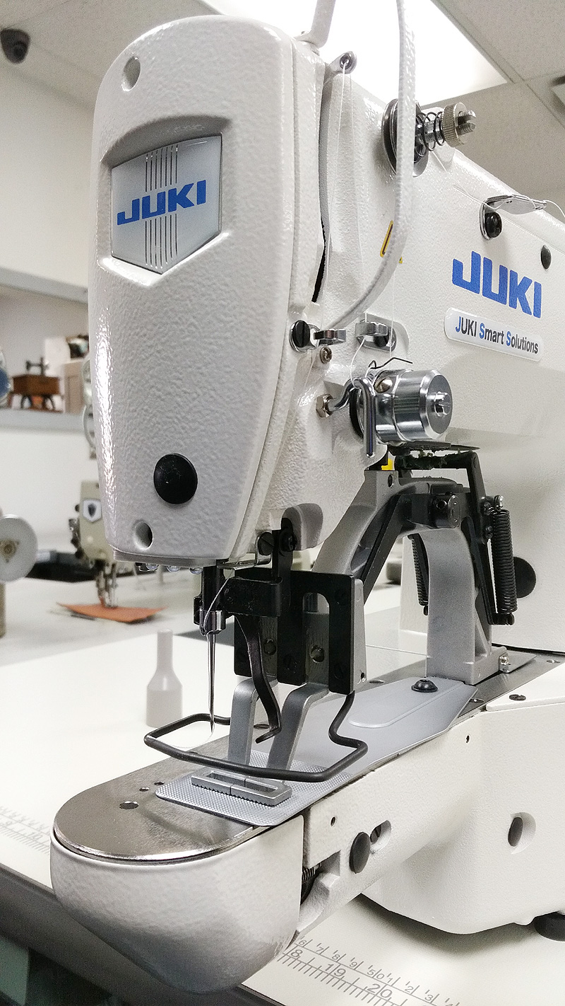 Bartacking Machines: JUKI LK-1900BN-HS Electronic Tacker for Heavy