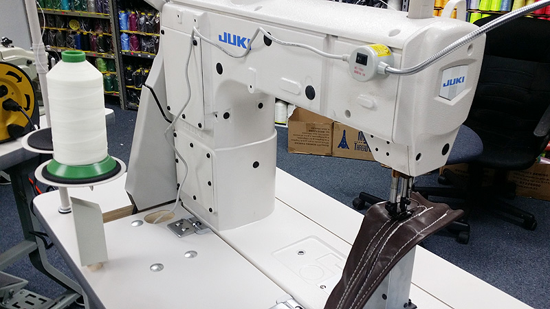 Leather And Upholstery Machines JUKI PLC40 Post Bed Walking Magnificent Juki Walking Foot Sewing Machine For Sale
