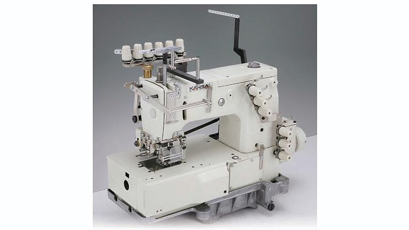 Chain Stitch Machines KANSAI SPECIAL DFB40PSMH 40Needle Stunning Sewing Machine Smocking