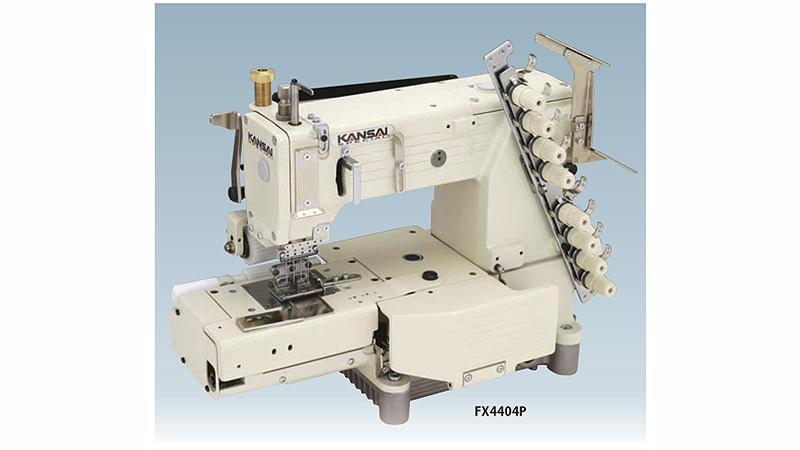 Chain Stitch Machines KANSAI SPECIAL FX400P 40 Needle Cylinder Mesmerizing 4 Needle Elastic Sewing Machine