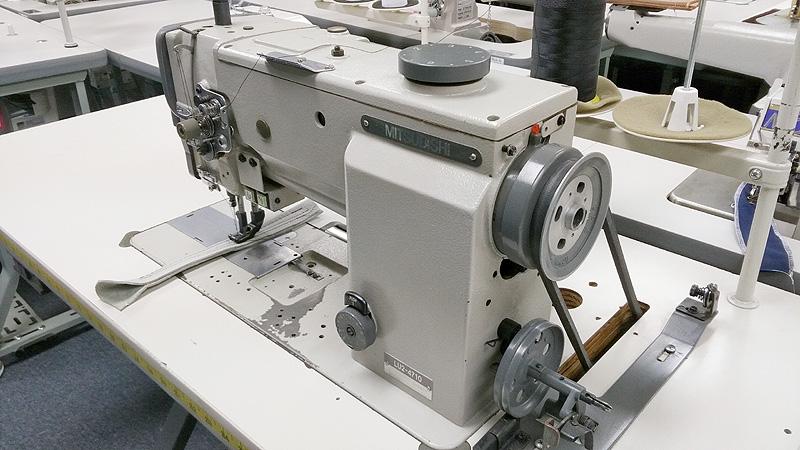 Leather And Upholstery Machines MITSUBISHI LU4040B40T Automatic Magnificent Mitsubishi Sewing Machine For Sale