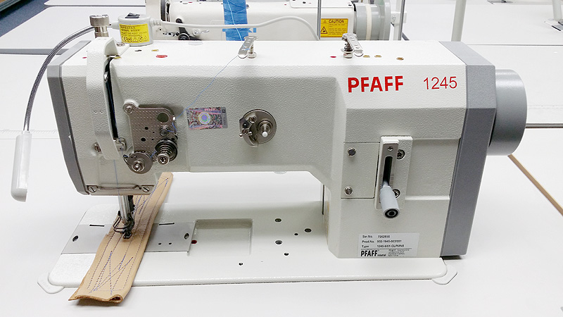 Leather And Upholstery Machines PFAFF 40 Walking Foot Sewing Fascinating Pfaff Walking Foot Sewing Machine