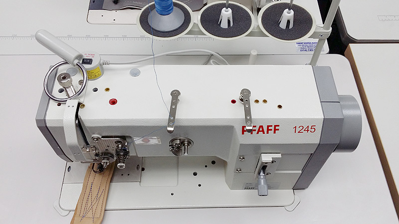Leather And Upholstery Machines PFAFF 40 Walking Foot Sewing Delectable Pfaff 1245 Industrial Sewing Machine Parts