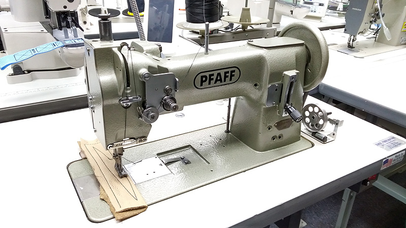 Leather And Upholstery Machines PFAFF 40 Walking Foot Leather And Unique Leather Sewing Machine