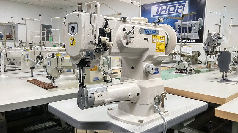 Leather And Upholstery Machines Thor Gc 1341 Cylinder Arm Walking Foot Sewing Machine For