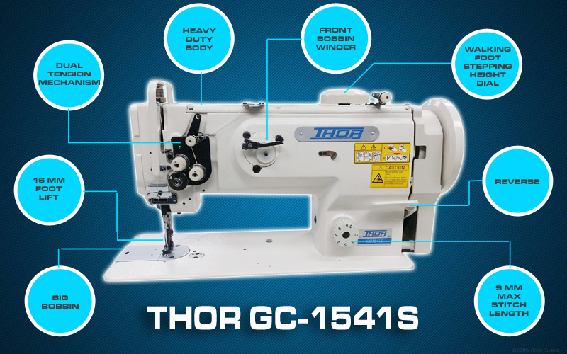 Leather And Upholstery Machines Thor Gc 0302 Top And Bottom Feed