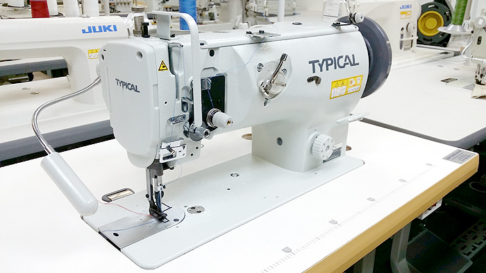 Leather And Upholstery Machines TYPICAL GC40A Single Needle Classy Juki Walking Foot Sewing Machine For Sale