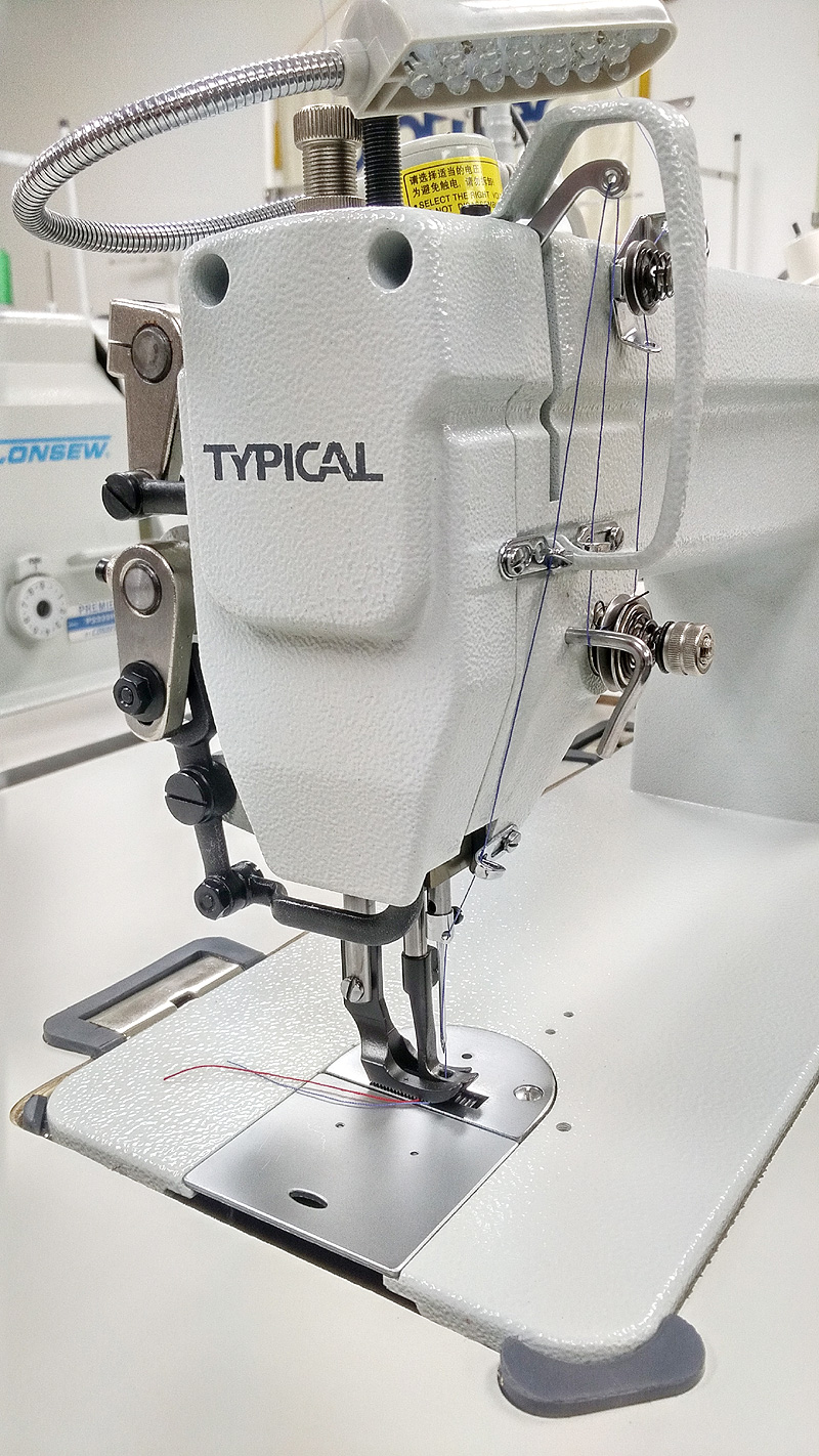 TYPICAL GC6-7-D Walking Foot Leather Sewing Machine