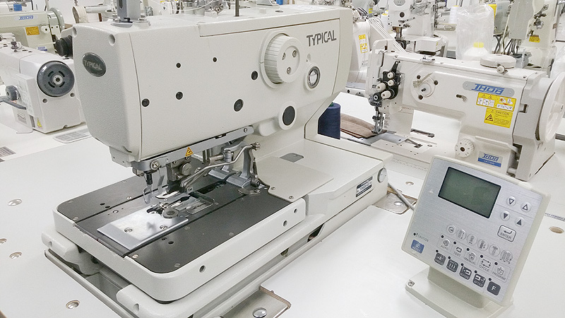 Button Hole Machines TYPICAL GT4040 Electronic Keyhole Sewing Unique Automatic Buttonhole Sewing Machine