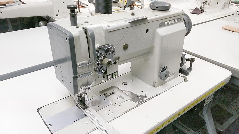 Leather And Upholstery Machines MITSUBISHI LU4040B40T Automatic Custom Mitsubishi Sewing Machine For Sale