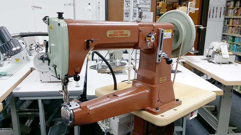 Leather And Upholstery Machines COBRA Class 40 Extra Heavy Duty Inspiration Harness Leather Sewing Machine